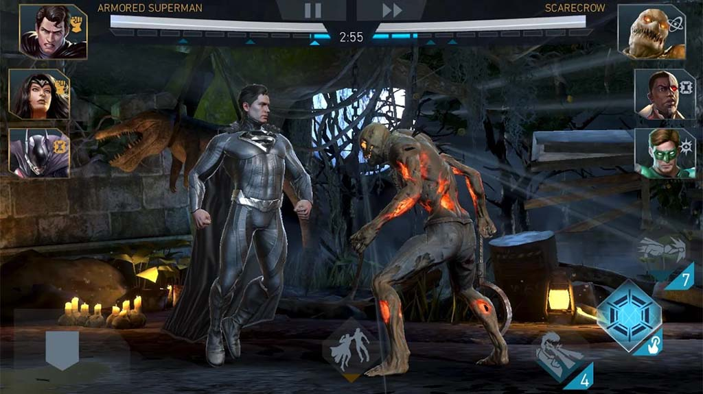 Top Five DC Comics Games for Android
