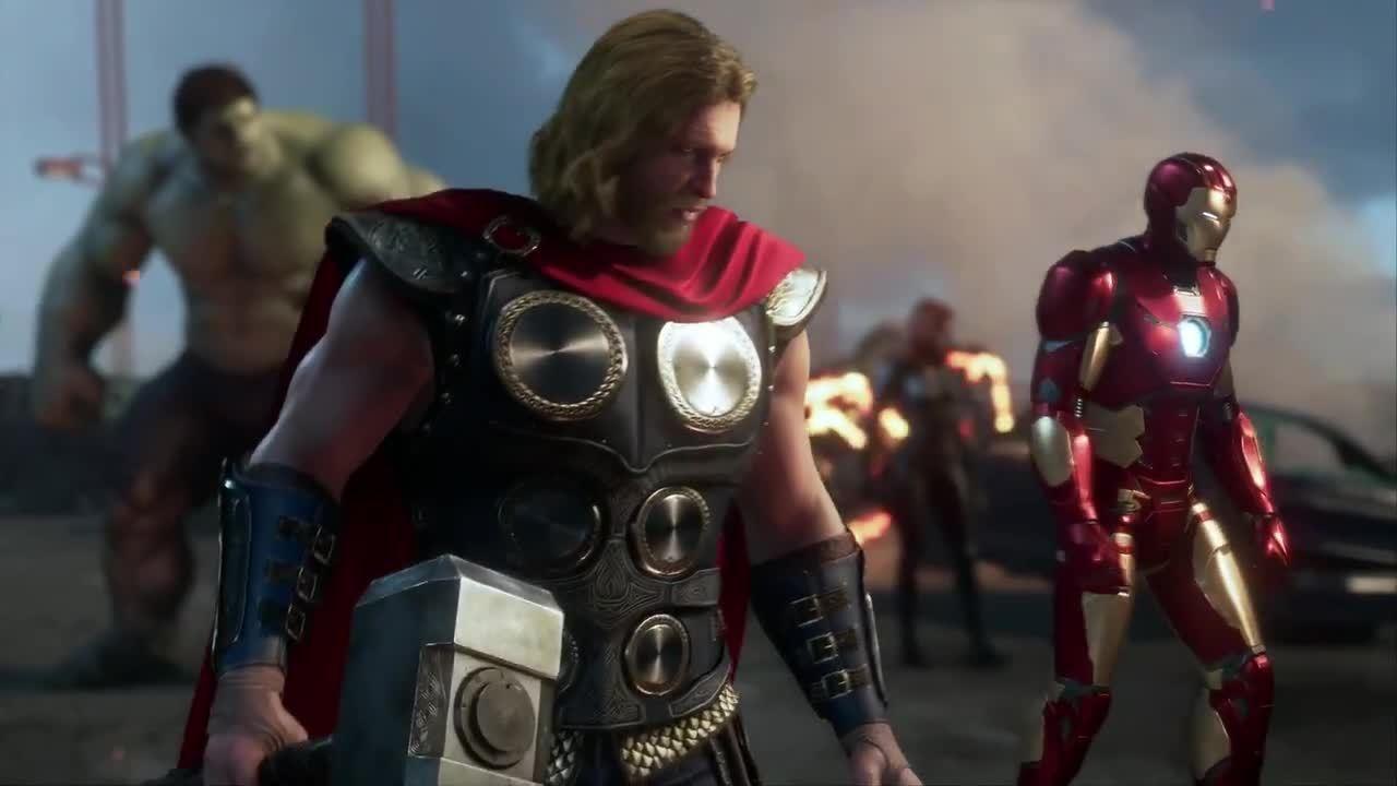 New Marvel's Avengers Announced on E3
